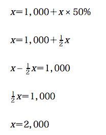 損益 分岐 点 計算 式