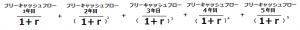 DCF計算式