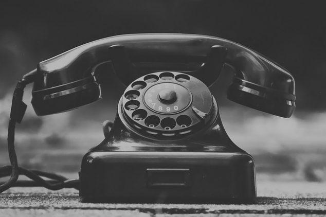 通信費の代表である電話