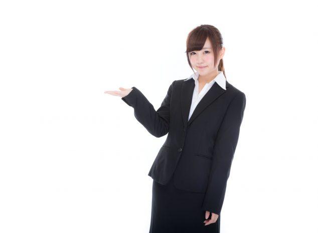 スーツ女子2